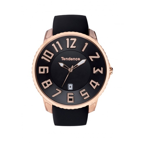 Slim Classic Black & Rose Gold 3H